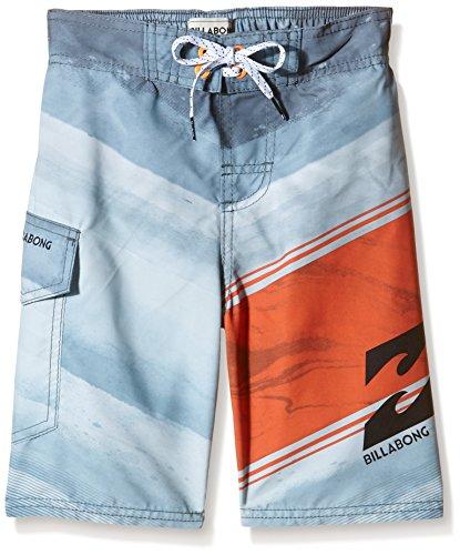 """Billabong Kramer Layba- Pantaloncini da mare, Ragazzo, Kramer Layba. 17,5"""", blu, 12 anni"""
