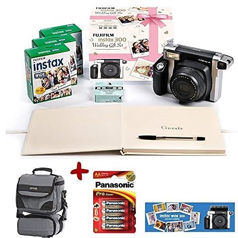 Bundle Fuji Instax 300 Instant Camera + 60 shot Film