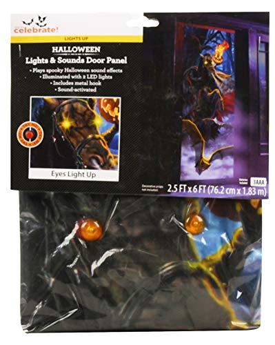 erkleidung für Halloween, Kopflos, mit Lichtern und Geräuschen ()