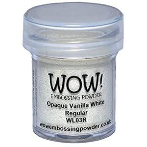 WOW! Embossing Powder 15ml-Opaque Vanilla White