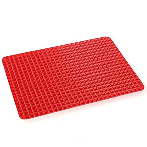 Pyramid Pan Fat Reducing Non Stick Silicone Mould Cooking Mat