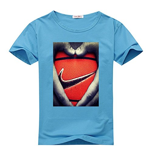 Yilaicustom Personalized DIY Custom Basketball Men's Short Sleeve T-Shirt (Custom T-shirts Basketball)