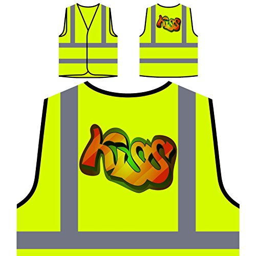alisierte High Visibility Gelbe Sicherheitsjacke Weste v654v ()