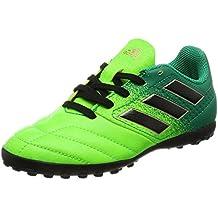 Adidas Ace 17.4 TF J, para los Zapatos de Entrenamiento de fútbol Unisex Niños,