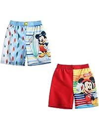 Lot de 2 maillots de bain Disney Mickey 3/4/5/6/8 ans (6 ans)