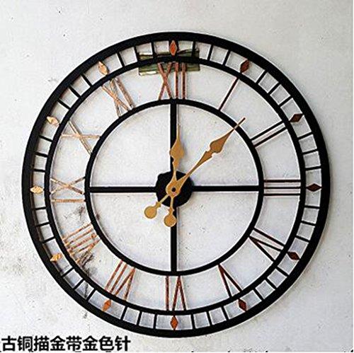 MNMKJH,Continentale, numeri romani, grande orologio da parete,