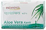 #9: Patanjali Kanti Aloe Vera Body Cleanser Soap, 75g