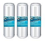 6 x WASSER ENTHÄRTUNG ANTIKALK KARTUSCHE 10 Zoll Filter Patrone für Wasserfilter als Kalkfilter Vorfilter Wasser Brunnenwasser Osmose Regenwasser