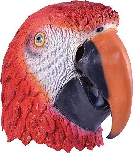 Dschungel Party Halloween Weihnachten Weihnachten Tier Clubwear Cosplay Maske - Papagei, One size (Papagei Halloween-kostüme)