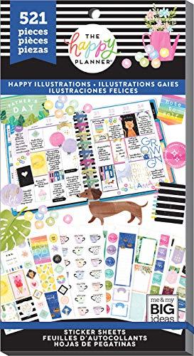 The Happy Planner - Sticker Happy Illustrations Vorteilspack