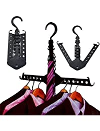 PETRICE 1PCS Closet Complete Multifunction Dual Magic Foldable Hanger For Clothes Shirts Sweaters Coat Organizer Dress Hanger Hook Drying Rack