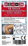 10er Set Wundnahtstreifen-Strips