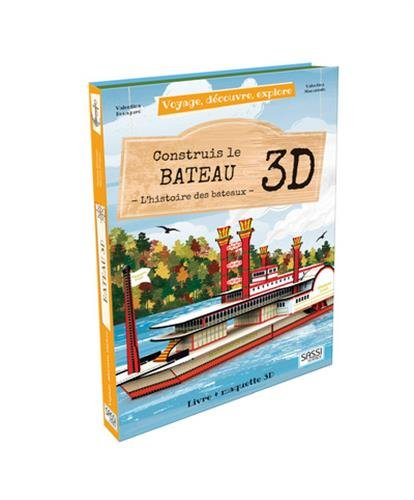 Construis le bateau 3D : L'histoire des bateaux