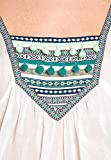 Lara Ethnics Tunic Christie India Blouse White Green