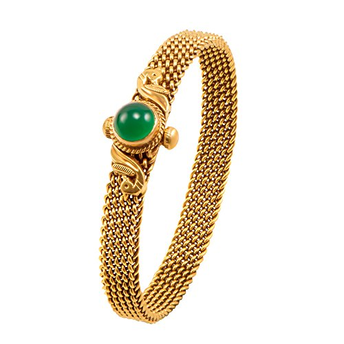Joyalukkas Apoorva Collection 22k Oxidized Gold Bangle