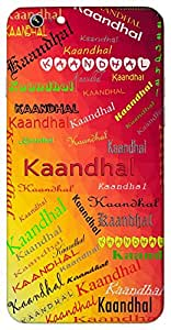 Kaandhal (Popular Girl Name) Name & Sign Printed All over customize & Personalized!! Protective back cover for your Smart Phone : Motorola Moto - X ( 1st Gen )