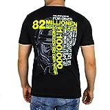 82 MILLIONEN Menschen ZUR EHR Feuerwehr T-Shirt Männer, Größenauswahl:M