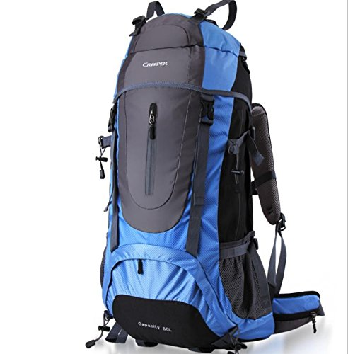ROBAG All'aperto alpinismo borsa viaggi trekking zaino grande sacchetti da 60 l , green 60 liters days blue 60 liters