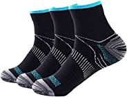 Compression Athletic Socks Women & Men, for Running, Sports, Athletic, Gym Etc. 3P