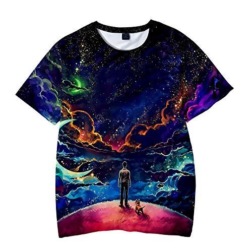 unbrand Lustige Unisex Teen Jungen Mädchen Unisex 3D gedruckt Tops Tees Casual Hemden Kurzarm T-Shirts für Herren Frauen