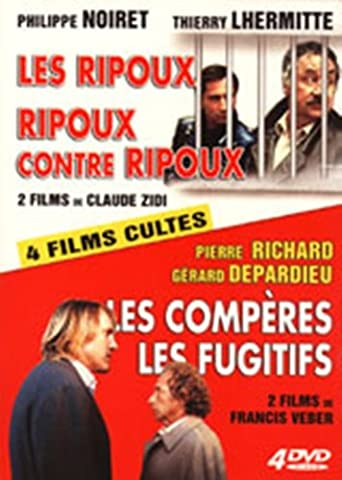 Les Ripoux / Ripoux contre Ripoux / Les Fugitifs / Les Comperes - Coffret 4DVD [Import belge]