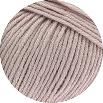 Lana Grossa 616 hellgrau meliert 50 g Wolle Kreativ Cool Wool Big Fb