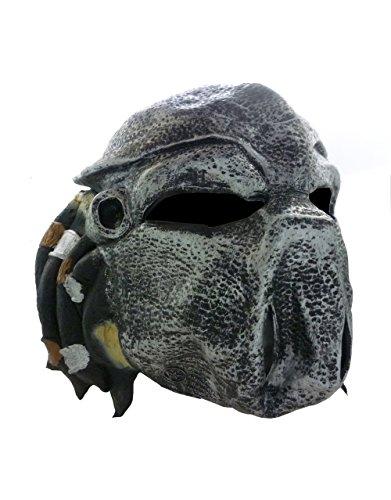 Alien v Predator, Motiv: Predator, Kostüm-Zubehör für Kinder, 3/4-Maske, Style (Und Kostüme Alien Predator Halloween)