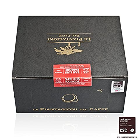 Estate Coffee | Ese Coffee Pods | Certified Specialty Coffee | 75% Arabica San Luis | 25% Robusta Raigode | 50 Pods
