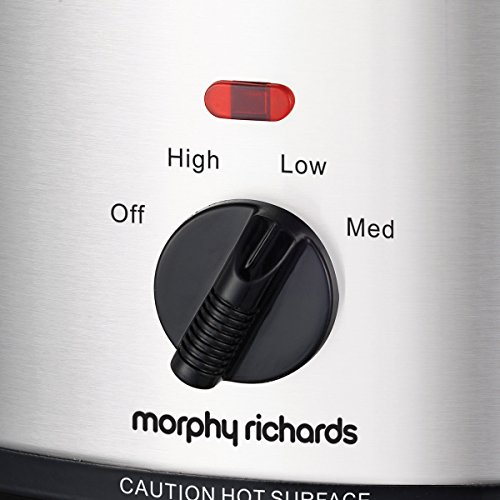 51ItK2dh1pL. SS500  - Morphy Richards Ceramic Slow Cooker 2.5L 460251 Silver Slowcooker