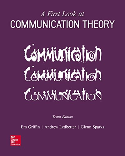A First Look at Communication Theory (English Edition)