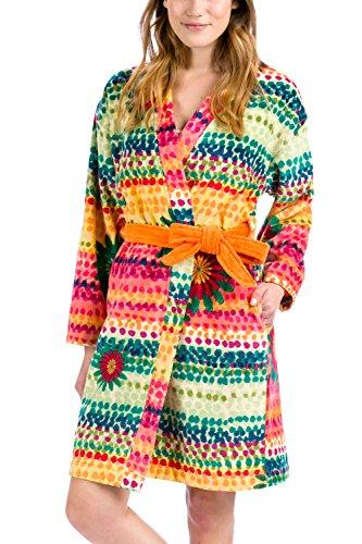 Desigual 57bl0a0l Lollipop Accappatoio di Bagno Donna Multicolore, multicolore, Misura L