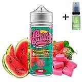 E Liquid Burst My Bubble Strawberry Watermelon Bubblegum 100 ml - 70vg 30pg - booster shortfill + E Liquid The Boat 10 ml lima limón - Para cigarrillo electrónico.