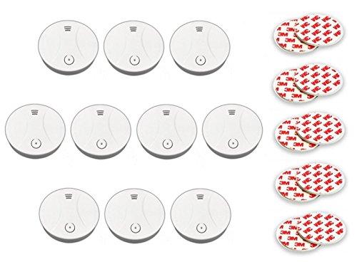 10x-rauchmelder-inkl-batterien-magnethalterung-feuermelder-rauchwarnmelder