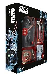 Star Wars 599386031 - Set Regalo (Llavero + Taza + libreta + 4 Bolis)