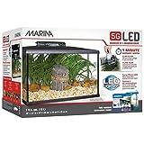 Marina Kit de Acuario con Iluminación LED 5G, 20 L