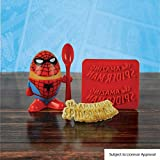 Marvel Comics Spiderman Eierbecher und Toastschneide [Edizione: Germania]