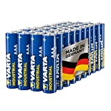 Varta Industrial Batterie AAA Micro Alkaline Batterien LR03 - 40er Pack, Made in Germany, umweltschonende Verpackung medium image