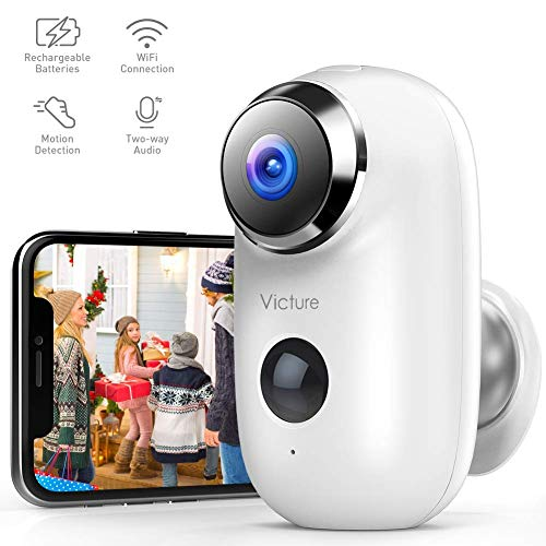 Victure 1080P Outdoor Rechargeab...