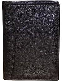 Style98 Black Premium Quality Pure Leather Women's Wallet   Men's Travel Wallet   Unisex Slim Wallet  Small Wallet