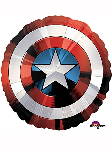 Amscan International 3484101 Avengers Shield Folie Ballon