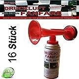 Leonado Vicenti Air Horn Druckluftfanfare extrem laut, Ideal für Sportveranstaltungen oder als Notsignal, Tonreichweite