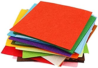 Di-Kraft Colored Handmade Paper Sheet Set Of 50 A4 Size Assorted Color, 150 Gsm