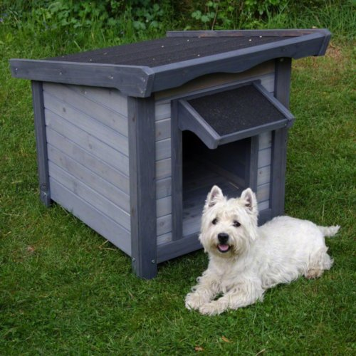 Easy Assembly Modern Dog Cabin – Gives Your Dog Extra Protection From The Elements Size S