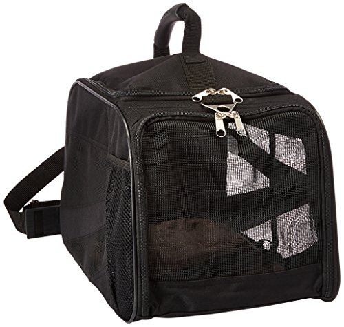 dbest products Pet Smart Carro Carrier, Grande, Negro, Suave Cara Plegable Plegable...