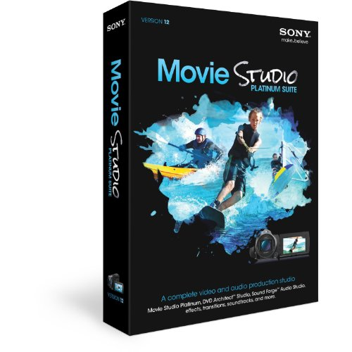 SONY Movie Studio Platinum Suite 12 Band In A Box 2012