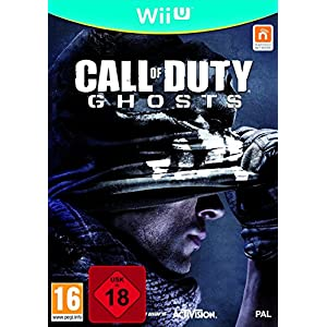 Nintendo Wii U Call of Duty Ghosts 100% Uncut AU Import, auf deutsch spielbar