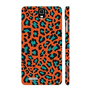 Infocus M330 Cheetah Print designer mobile hard shell case by Enthopia