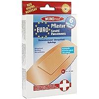 WUNDmed® Euro-Pflaster wasserabweisend 50 x 100 mm 6 Stück/Packung preisvergleich bei billige-tabletten.eu