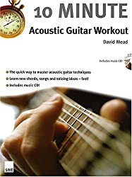 10 Minute Acoustic Guitar Workout (Book & CD)