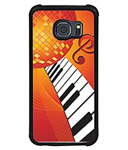PrintVisa Designer Back Case Cover for Samsung Galaxy S6 G920I :: Samsung Galaxy S6 G9200 G9208 G9208/Ss G9209 G920A G920F G920Fd G920S G920T (Artistic Design Of Key Boards)